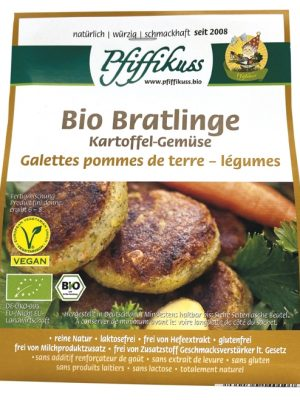 Pfiffikus Kartoffel-Gemüse-Bratling, 110 g