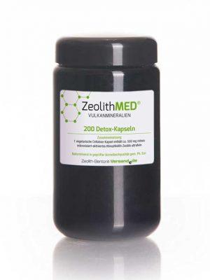 Zeolith MED-Detox-Kapseln, 200 Kapseln