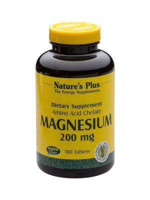 Nature's Plus Magnesium, 180 Tabletten