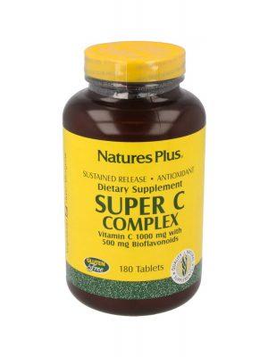 Nature's Plus Super C Complex, 180 Tabletten