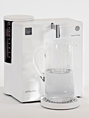 aqua living spring-time CLASSIC, Frontblende weiss,