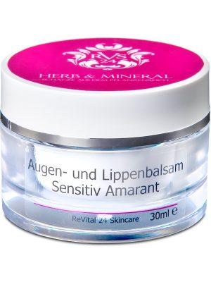 ReVital24 Augen- und Lippenbalsam Sensitiv Amarant