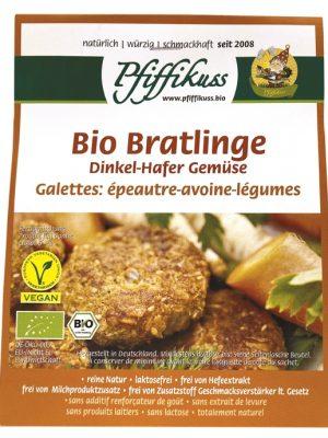 Pfiffikus Dinkel-Hafer-Gemüse-Bratling Bio, 160 g