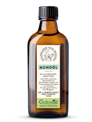 Sonnenblumenöl mit Kräutern Mundöl, 100 ml