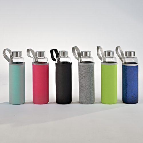 Aqua Living Glas -Trinkflasche 500 ml-0
